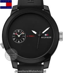 Tommy Hilfiger Horloge TH1791326 Denim Zwart
