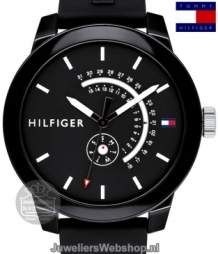 Tommy Hilfiger Horloge TH1791483 Denim Zwart