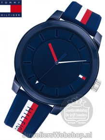 Tommy Hilfiger Horloge TH1791746 Denim Blauw
