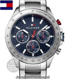 Tommy Hilfiger th1791228 multi date staal