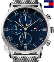 Tommy Hilfiger th1791398 multi date staal