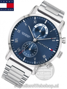 tommy hilfiger th1710401 kane multi date horloge heren