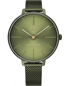 Tommy Hilfiger Dames Horloge TH1782116 Kelly Groen
