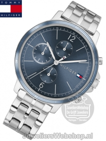 Tommy Hilfiger Dames Horloge TH1782188 Madison Blauw