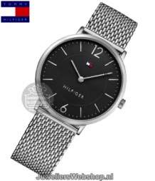 Tommy Hilfiger Ultra Slim heren horloge  th1710355 zwart