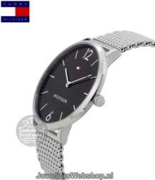 tommy hilfiger ultra slim th1710355 horloge heren zwart