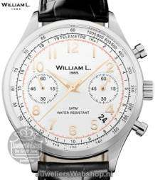 William L Horloge WLAC01BCORCN Chrono Bicolor Zwart