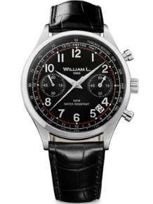 William L 1985 heren horloge WLAC01NRCN Chronograph Vintage Style