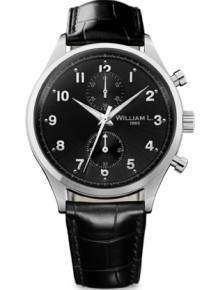 William L Horloge WLAC02NRCN Small Chrono Zwart