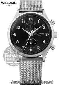 william l 1985 heren horloge WLAC02NRMM Small Chronograaf