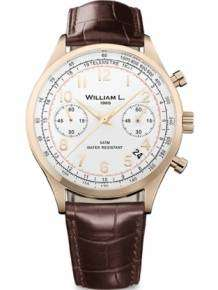 William L Horloge WLOR01BCORCM Chrono Rose Bruin