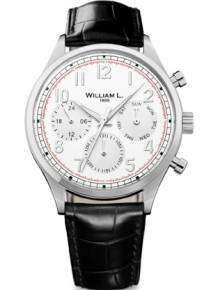 William L Horloge WLAC03BOCN Calendar Zwart