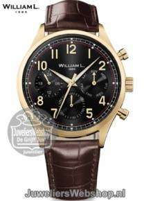 william l 1985 heren horloge WLOJ03NROJCM