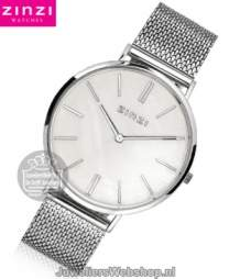 Zinzi ZIW417M Mother of Pearl Retro Horloge Parelmoer