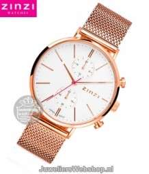 Zinzi Traveller Dameshorloge ZIW708M Rose Duo Time
