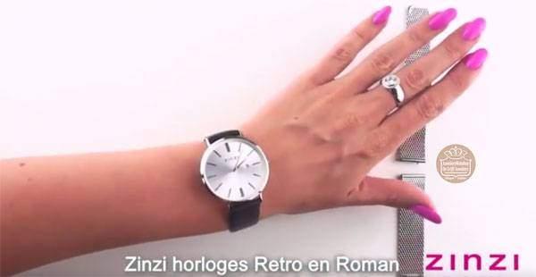 Zinzi horlogeband wisselen
